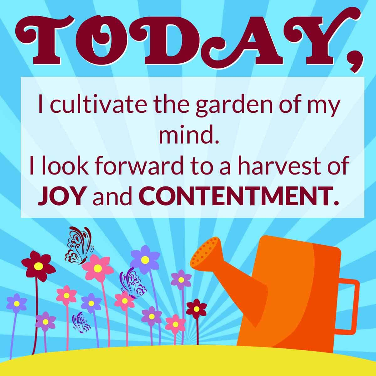 Attaining Joy With Happiness Reflection